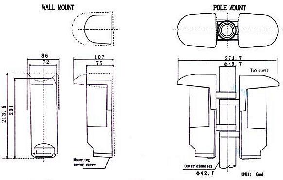 aleph my-60 photoelectric beam